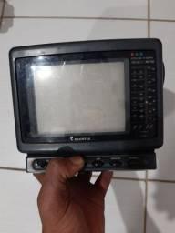 TV ANTIGA COM CORES .