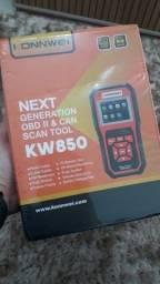 Título do anúncio: Atenção   Scanner Automotivo Konnwei KW850   OBD2   Tela Integrada   Limpa códigos de erro