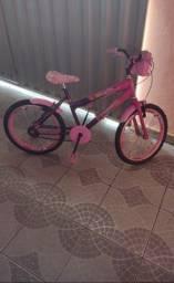 Bicicleta dá Barbie Nova usada só uma vez