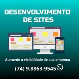 Título do anúncio: Desenvolvimento de Sites e Loja Virtual