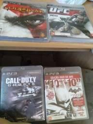 Vende 4 jogos originais de play 3