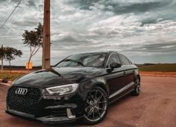 Audi A3 2.0 Tfsi Sedan Ambition Preto Impecável Com Painel Digital (Tft) Original