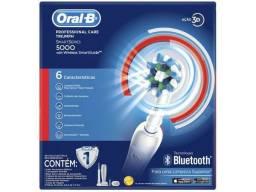 Escova Elétrica Professional Care 5000 Bluetooth Oral-b 110v