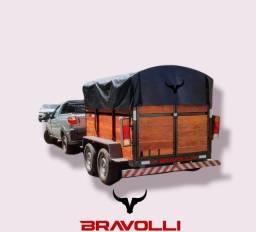 Título do anúncio: Carretinha BRAVOLLI ' Reboque Entregue em todo norte