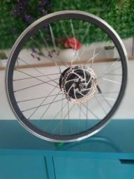 Roda De Bicicleta traseira Elétrica  26 Polegadas