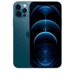 iPhone 12 PRO MAX 128GB - Azul pacífico - LACRADO/NOVO