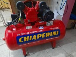 VENDO COMPRESSOR MONOFASICO CHIAPERINI RED 110 LOTROS