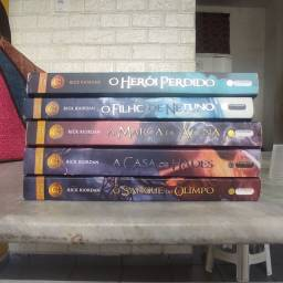 Box Percy Jackson (Os heróis do Olimpo)