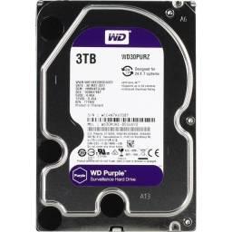 HD Western Digital Purple 3TB (WD30PURZ)