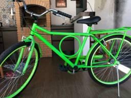 Bicicleta Retrô: Verde Limão