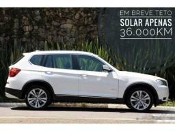 BMW X3 35i M-Sport 3.0 306cv Bi-Turbo, Teto Solar *Apenas 36.000Km*