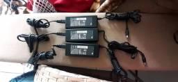 3 carregador de notebook novos R$ 50, CADA