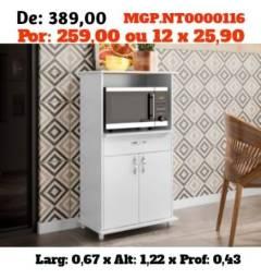 Balcão de Microondas- Balcão de Fruteira-Armario - Cozinha- Super Promoção MS