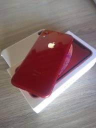 Título do anúncio: IPHONE XR RED 64GB IMPECÁVEL APENAS R$ 2449REAIS..  LEIA !!!!!!
