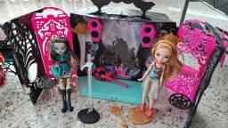 Kit monster high discoteca