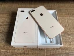 Título do anúncio: iPhone 8 Plus 64gb Dourado Loja Savassi