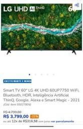 Título do anúncio: Tv 60 polegadas
