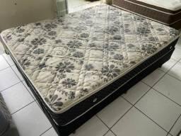 Título do anúncio: PARA VENDER HOJE cama box queen size  - ENTREGAMOS