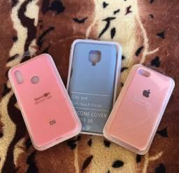 Capa case iPhone, Xiaomi,Motorola e Samsung