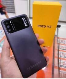 Título do anúncio: Lacrado- Xiaomi Poco M3 64gb ou d 128gb