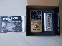 Pedal Nux Loop Core Deluxe + pedal controlador