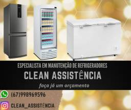Assistência técnica de geladeiras e freezers