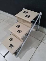 Escada para cachorro tubline