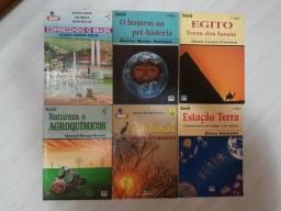 Livros diversos educativos
