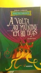 Livro A Volta Ao Mundo Em 80 Dias
