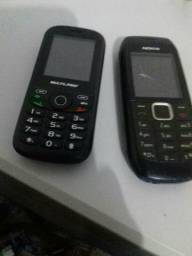 Telefone simples sem Android