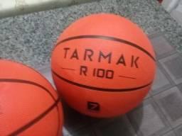 """Bola de basquete """"nova de fábrica"""" oficial adulto número 7 para quadra e rua"""
