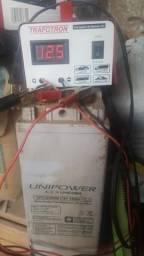Bateria de 150 ampere com carregador de bateria