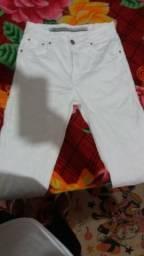 Calça jeans branca nº38
