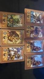 Lote cartas mythomania-elma chips