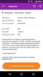 Terreno em Mangabeira 8 ( conjunto do asspom )