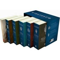 Box pocket Cronicas de gelo e fogo. Mais: Livro cavaleiro dos sete reinos