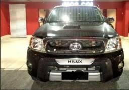 Toyota Hilux CD srv 3.0 prata 08/08 - 2008