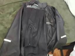 Capa de chuva de motoqueiro