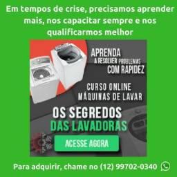 Curso Online Segredo Das Lavadoras - Ganhe Dinheiro Consertando Lava-Roupas