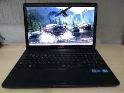 "Notebook Samsung com Intel Core i3, 8GB de RAM, 500GB de HD, DVD, HDMI, LED 15.6"" Windows"