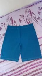 Short fit azul