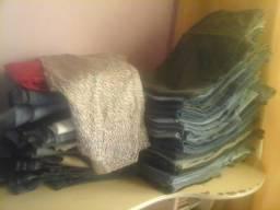 Lote de Calças Jeans