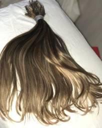 Cabelo Humano para mega hair Liso