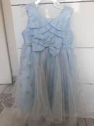 Vestido princesa Elsa (Frozen)
