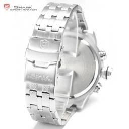 98103e15388 Relógio shark digital e analógico