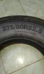 2 pneus 275/80/R22.5