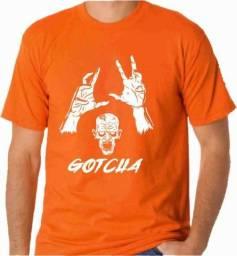 Camiseta zombie gotcha monstro geek nerd c25fed493b1df