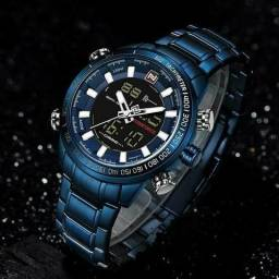 Relógio Masculino Naviforce Nf9093 Original Esportivo Elegante