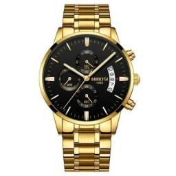Relógio Nibosi novo na caixa