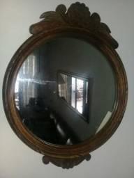 Molduras madeira maciça com espelho diversos modelos
